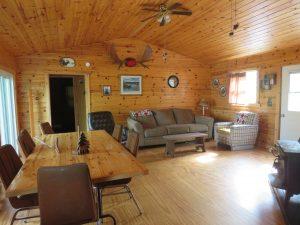 Moose Cabin Livingroom