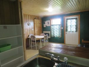 Bear Cabin Dining Area
